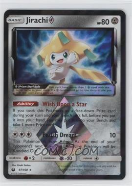 2018 Pokémon Sun & Moon - Celestial Storm - [Base] #97 - Jirachi (Prism Star)