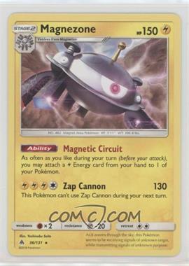 2018 Pokémon Sun & Moon - Forbidden Light - Expansion Set [Base] #36 - Magnezone
