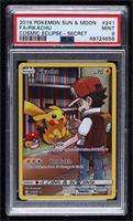 Pikachu (Full Art - Secret Rare) [PSA9MINT]