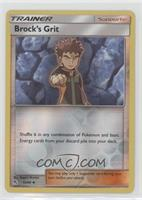 Brock's Grit