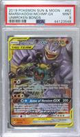 Marshadow & Machamp GX [PSA 9 MINT]
