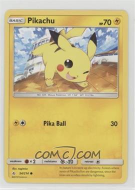 2019 Pokémon Sun & Moon - Unbroken Bonds - Expansion Set [Base] #54 - Pikachu
