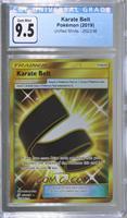 Karate Belt (Secret Rare) [CGCGaming9.5]