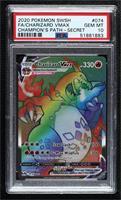 Charizard VMAX (Secret Rainbow Holo) [PSA10GEMMT]