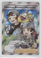 Pokemon Breeder's Nurturing (Full Art Holo)