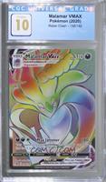 Malamar VMAX (Secret Rainbow Holo) [CGCGaming10]