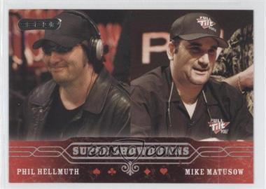 2006 Razor Poker - [Base] #43 - Phil Hellmuth, Mike Matusow