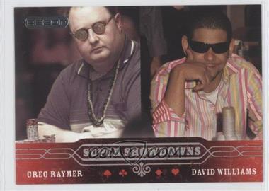 2006 Razor Poker - [Base] #44 - Greg Raymer, David Williams