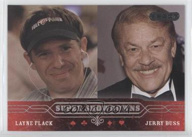 2006 Razor Poker - [Base] #45 - Layne Flack, Jerry Buss