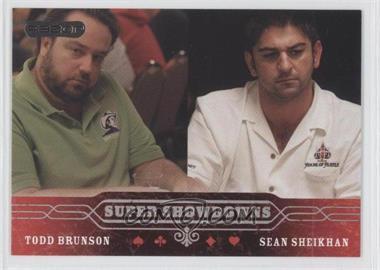 2006 Razor Poker - [Base] #50 - Todd Brunson, Sean Sheikhan