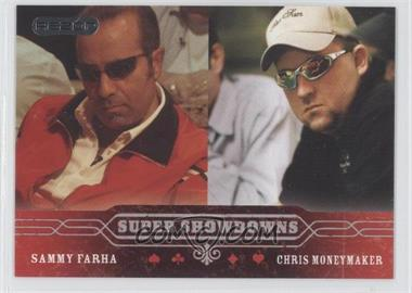 2006 Razor Poker - [Base] #52 - Sammy Farha, Chris Moneymaker