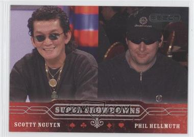 2006 Razor Poker - [Base] #53 - Scotty Nguyen, Phil Hellmuth