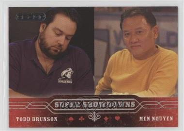 2006 Razor Poker - [Base] #54 - Todd Brunson, Men Nguyen