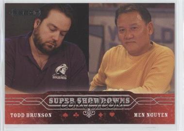 2006 Razor Poker - [Base] #54 - Todd Brunson, Men Nguyen