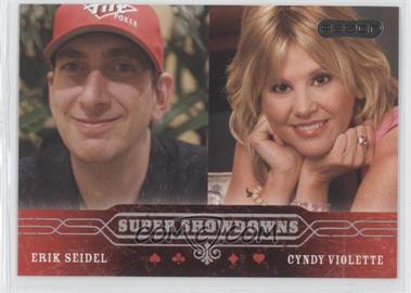 2006 Razor Poker - [Base] #59 - Erik Seidel, Cyndy Violette