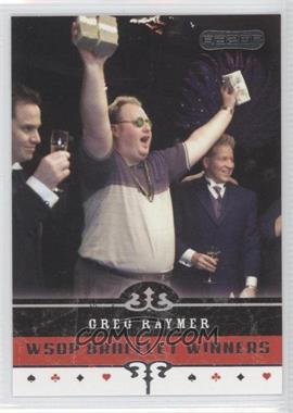 2006 Razor Poker - [Base] #61 - Greg Raymer