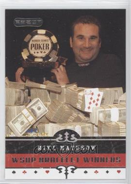 2006 Razor Poker - [Base] #68 - Mike Matusow