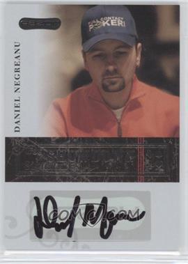 2006 Razor Poker - Showdown Signatures - [Autographed] #A-1 - Daniel Negreanu