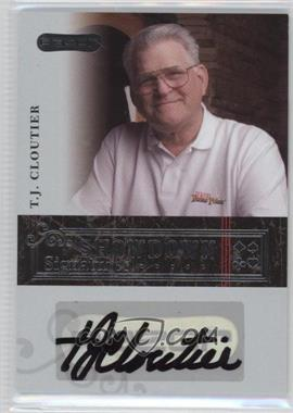 2006 Razor Poker - Showdown Signatures - [Autographed] #A-10 - Tj Cloutier