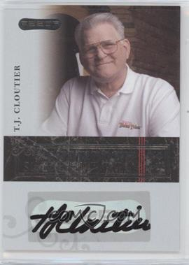 2006 Razor Poker - Showdown Signatures - [Autographed] #A-10 - Tj Cloutier
