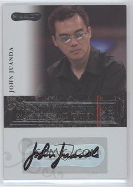 2006 Razor Poker - Showdown Signatures - [Autographed] #A-12 - John Juanda