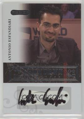 2006 Razor Poker - Showdown Signatures - [Autographed] #A-13 - Antonio Esfandiari