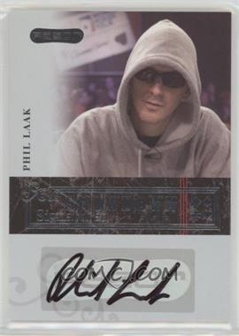 2006 Razor Poker - Showdown Signatures - [Autographed] #A-14 - Phil Laak