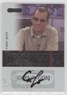 2006 Razor Poker - Showdown Signatures - [Autographed] #A-18 - Chip Jett