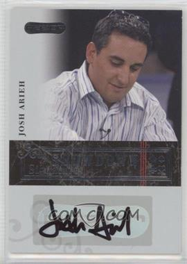 2006 Razor Poker - Showdown Signatures - [Autographed] #A-2 - Josh Arieh