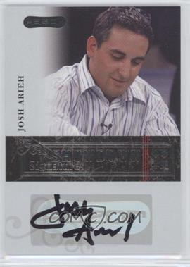 2006 Razor Poker - Showdown Signatures - [Autographed] #A-2 - Josh Arieh