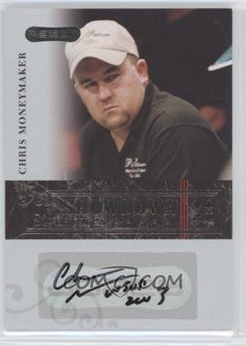 2006 Razor Poker - Showdown Signatures - [Autographed] #A-29 - Chris Moneymaker