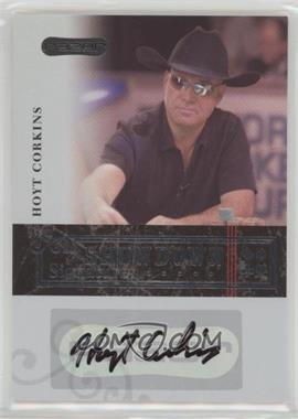 2006 Razor Poker - Showdown Signatures - [Autographed] #A-3 - Hoyt Corkins
