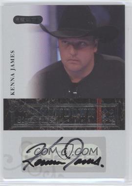 2006 Razor Poker - Showdown Signatures - [Autographed] #A-35 - Kenna James