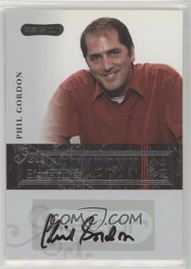 2006 Razor Poker - Showdown Signatures - [Autographed] #A-6 - Phil Gordon