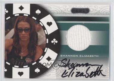 2007 Razor - Poker Paraphernalia #SS-79 - Shannon Elizabeth