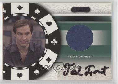 2007 Razor - Poker Paraphernalia #SS-81 - Ted Forrest