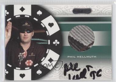 2007 Razor - Poker Paraphernalia #SS-83 - Phil Hellmuth