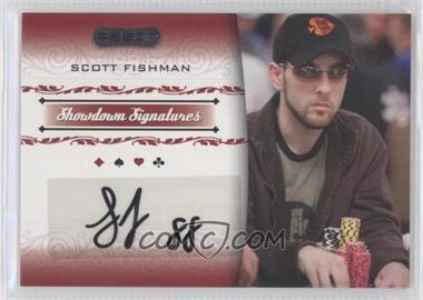 2007 Razor Poker - Showdown Signatures #SS-10 - Scott Fischman