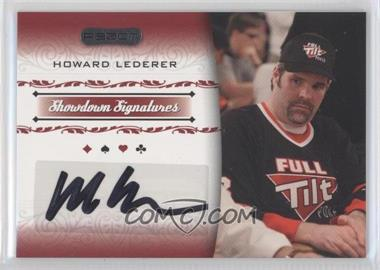 2007 Razor Poker - Showdown Signatures #SS-23 - Howard Lederer