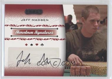 2007 Razor Poker - Showdown Signatures #SS-26 - Jeff Madsen