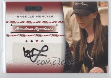 2007 Razor Poker - Showdown Signatures #SS-29 - Isabelle Mercier