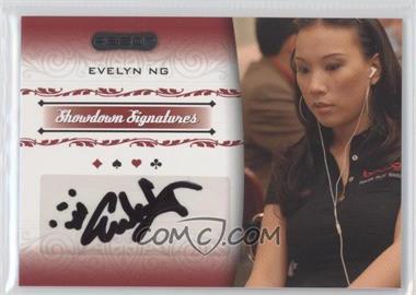 2007 Razor Poker - Showdown Signatures #SS-34 - Evelyn Ng