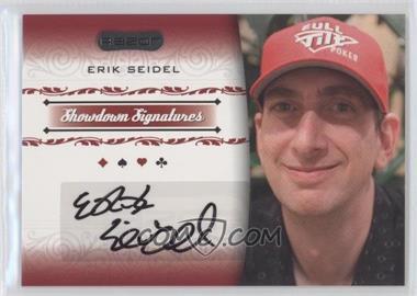 2007 Razor Poker - Showdown Signatures #SS-39 - Erik Seidel