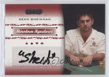 2007 Razor Poker - Showdown Signatures #SS-40 - Sean Sheikhan
