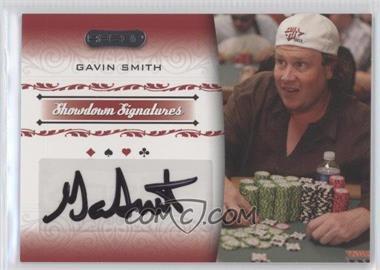 2007 Razor Poker - Showdown Signatures #SS-41 - Gavin Smith