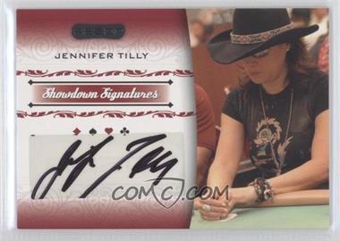 2007 Razor Poker - Showdown Signatures #SS-42 - Jennifer Tilly