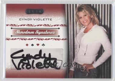 2007 Razor Poker - Showdown Signatures #SS-44 - Cyndy Violette
