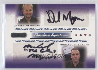 2007 Razor Poker - Showdown Signatures #SS-48 - Daniel Negreanu, Michael Mizrachi