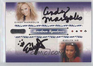 2007 Razor Poker - Showdown Signatures #SS-49 - Cindy Margolis, Evelyn Ng