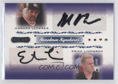 2007 Razor Poker - Showdown Signatures #SS-50 - Howard Lederer, Erick Lindgren